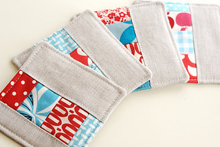 patchwork coasters | by Retro_Mama