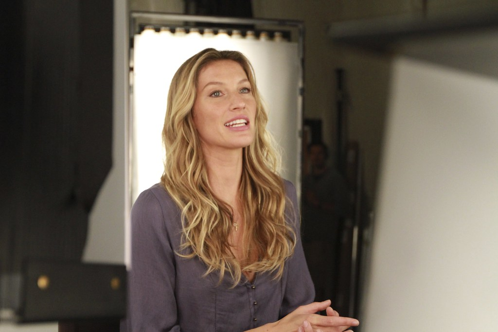 Supermodel Gisele for The United Nations Environment Program