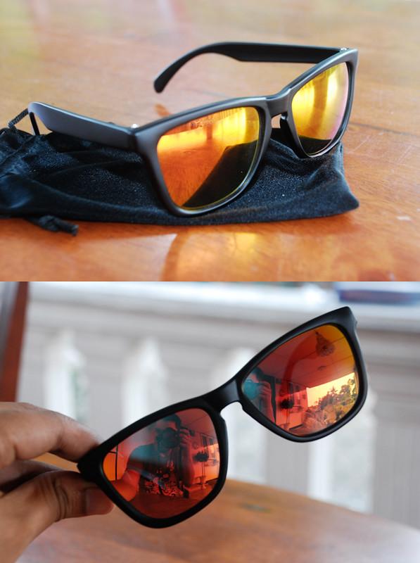 Sonnenbrillen Knockaround Premium Black / Sunset kbpEDnXpR