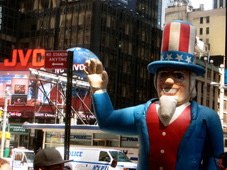 Uncle Sam Strike Balloon Times Square NYC 7479 | by Brechtbug
