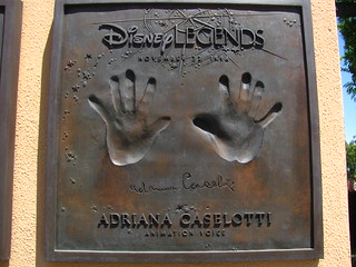 Andriana Caselotti Disney Legend at the Disney Legends Plaza | by Castles, Capes & Clones