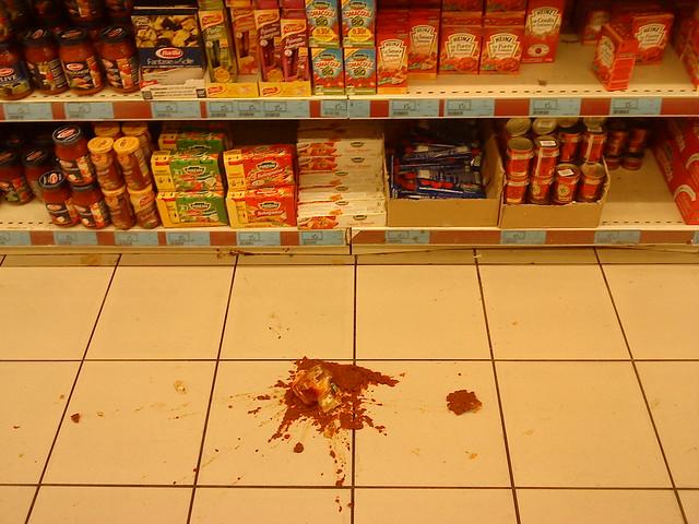 Splattered Sauce