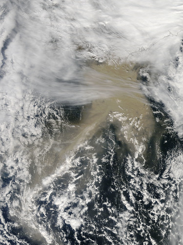 Ash Plume from Grímsvötn Volcano, Iceland - May 23 | by NASA Goddard Photo and Video