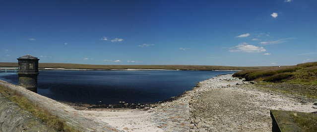 Chew Valley Reservoir Panorama