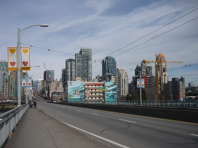 From the Granville Bridge