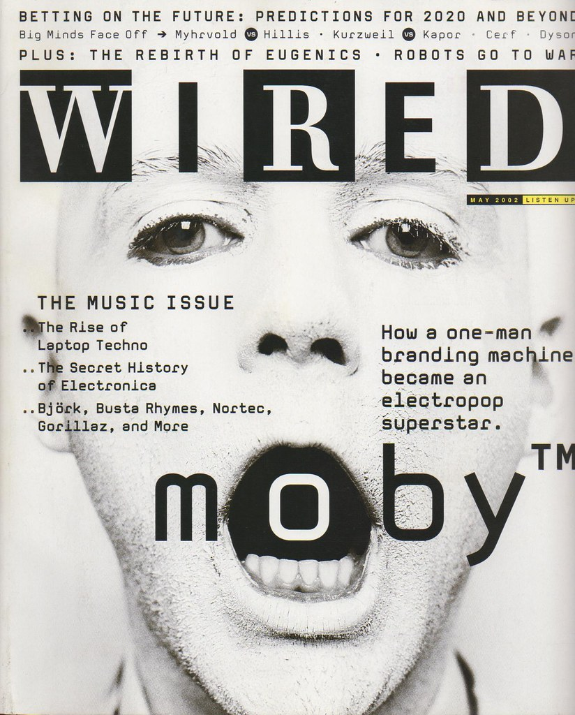 WIRED Magazine May 2002 MOBY Cover | rodney wills | Flickr