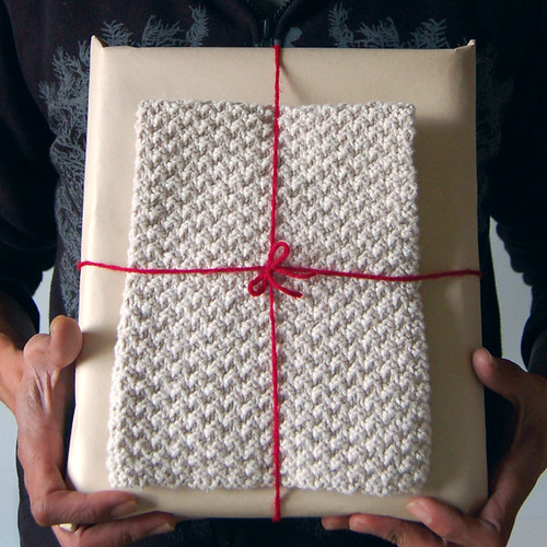 Moss Stitch Dish Cloth | by gridjunky