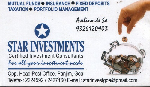 Star Investments | by vistingcardsgoa