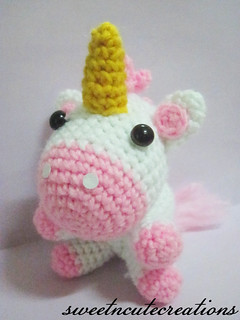 Unicorn Front | by Sweet N' Cute Creations