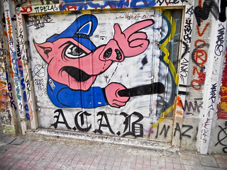 ACAB Pig | by insurgent photo