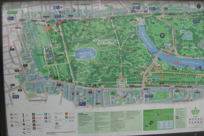 Kensington Gardens Map Great Ormond Street Hospital Childrens