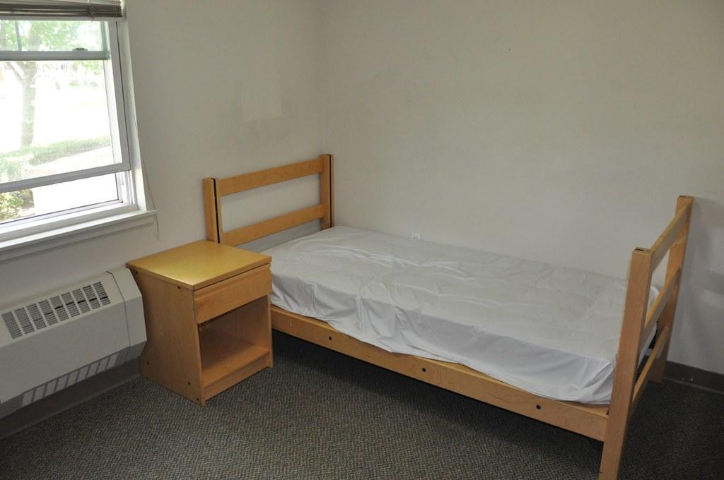 An empty dorm