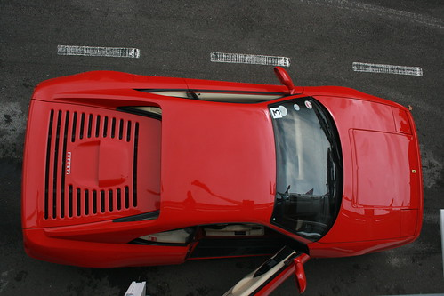 Ferrari F355 from above | by Supermac1961