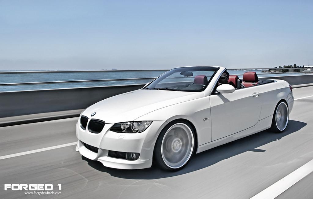 BMW E I Seven Mesh Deep Concave BMW I Con Flickr - 2009 bmw 335i convertible