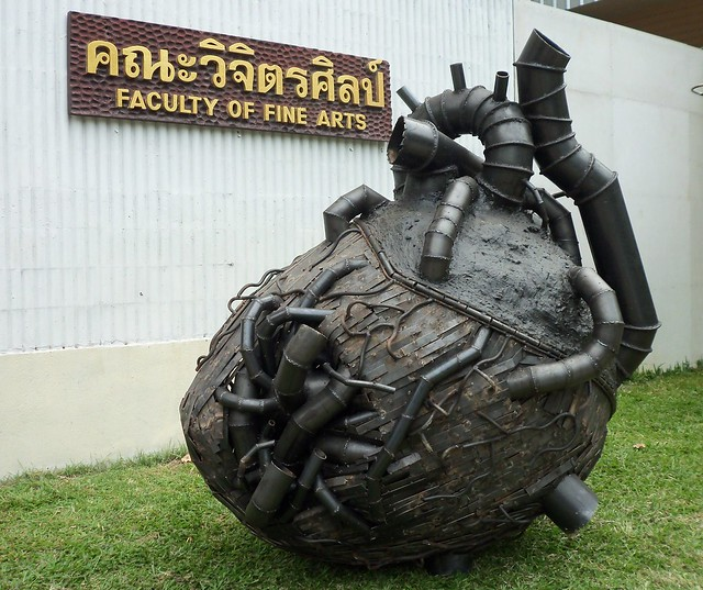Sculpture @ Chiang Mai University, Chiang Mai Thailand