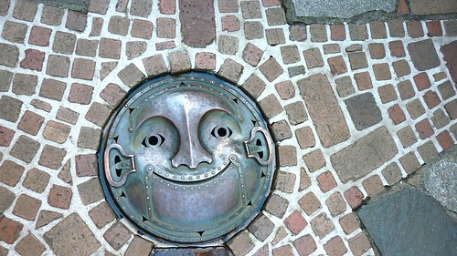 Drain Cover On The Patio | by Cliffano