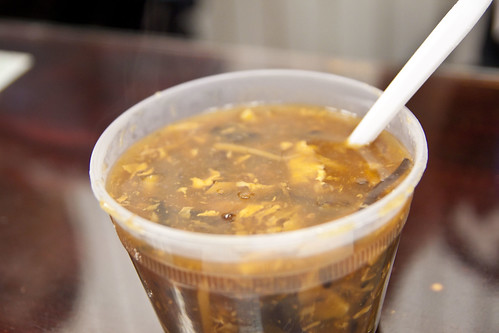 Hot & Sour soup @ Fried Dumpling | by ExFlexitarian