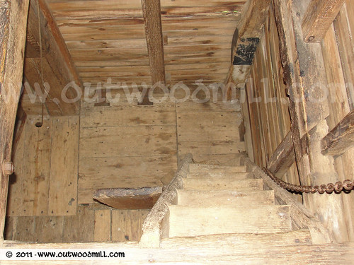 Outwood Mill - Bin Floor Ladder | by Outwood Windmill