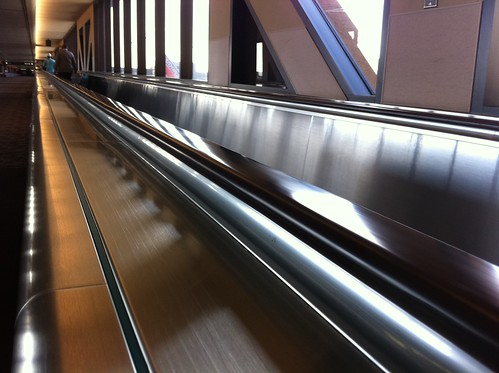 Caution! The Moving Walkway is Ending | by cogdogblog