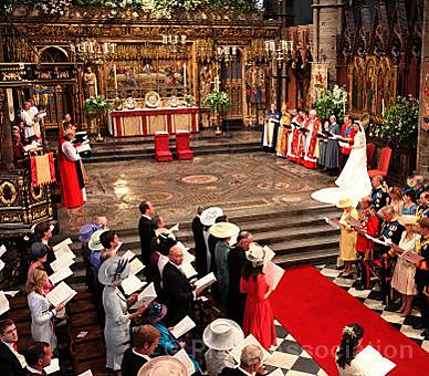 Wedding Service | by The British Monarchy
