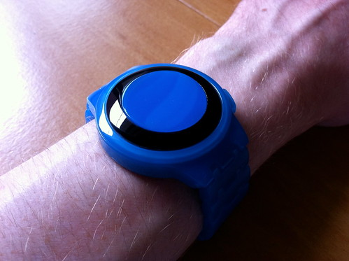 Kisai RPM Acetate Blue Limited Edition LED Watch Design From Tokyoflash Japan | by Tokyoflash Japan