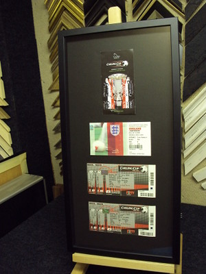 Football Tickets | by bespokeframing