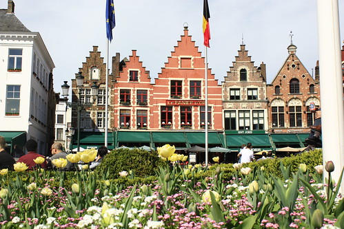 Flowers and Flemish houses | by Stephan Neven