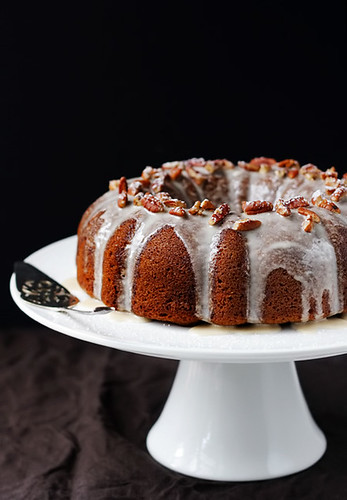 Sweet Potato Bundt Cake With Cream Cheese Icing