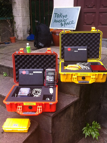 Mobile Radiation Monitor systems bGeigie ready for action #safecast.org | by Nokton