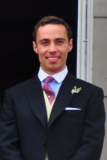 James Middleton on the balcony of Buckingham palace | by David Dawson Photography
