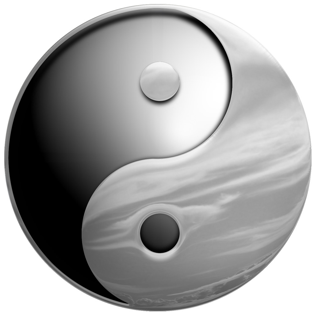yin yang sky - illustration | yin yang is a chinese symbol i… | flickr