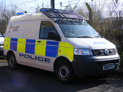 (1125) GMP - Greater Manchester Police - VW - Volkswagen Transporter - MX10 FFC - Dog Unit | by Call the Cops 999