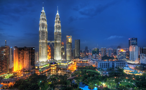 Flying Through the Night Skies of Kuala Lumpur | by Trey Ratcliff