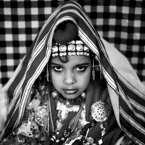 Girl in traditional clothes in Ghadamis - Libya | by Eric Lafforgue