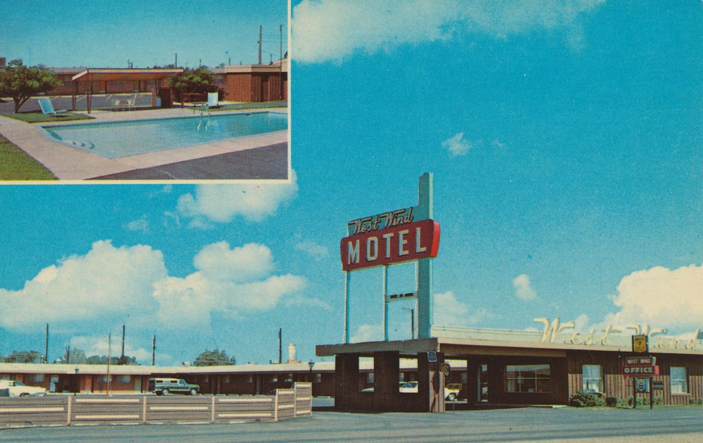 West Wind Motel - Midland, Texas