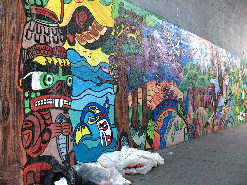 ... Native American Inspired Graffiti In Astoria, NYC | By Moneymakermj Part 12
