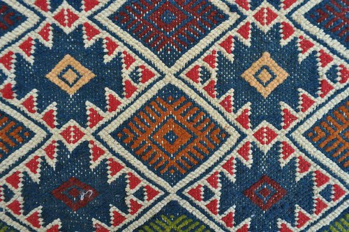 kilim bleu berb re tunisien tapis berb re tunisien fait ma flickr. Black Bedroom Furniture Sets. Home Design Ideas