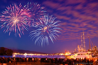 Tonight in Vancouver: BOOM BOOM BOOM CanadaDay fireworks in Vancouver | by [Rikki] Julius Reque