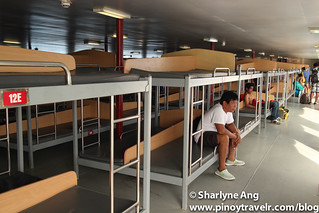 Inside MV St. Ignatius, Tourist section  - 2GO (Odiongan - Caticlan route) | by rockerfem