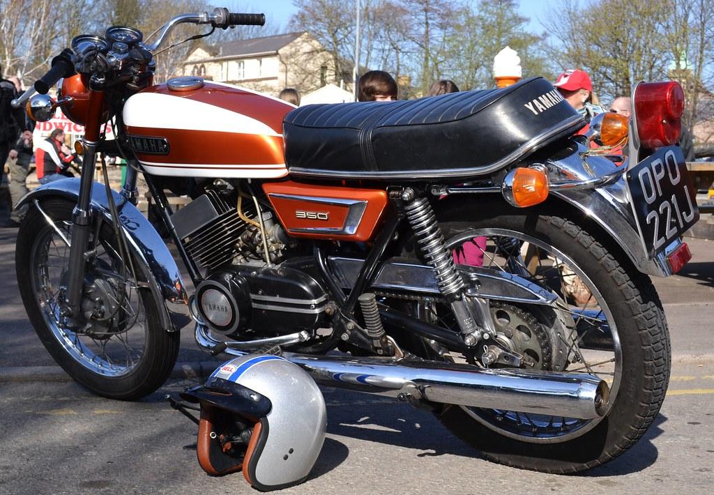 Yamaha motorcycles flickr for Yamaha 350cc motorcycles