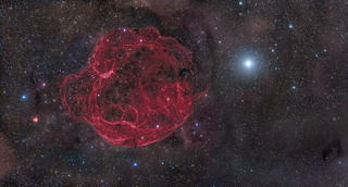 Simeis 147 Supernova Remnant | by DeepSkyColors