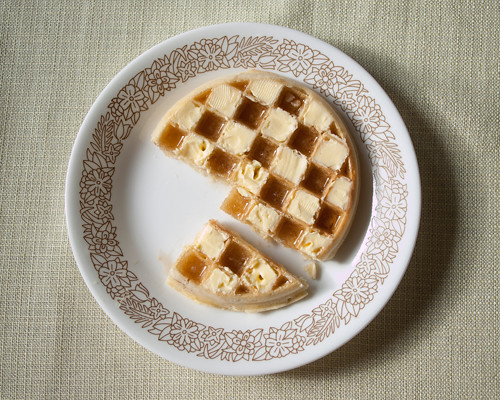 The Proper Way to Eat a Waffle 4 | by Kelly Ichinose