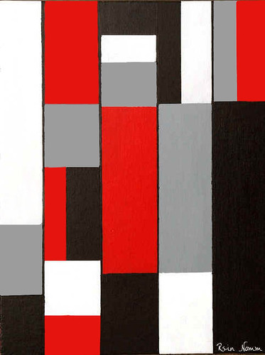 Composition in Red Black & Gray | by nomm de photo