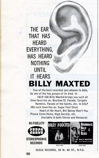 "Billy Maxted - Audiophile ""Jazz"" 1960 
