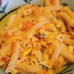 pasta and summer veggies 003