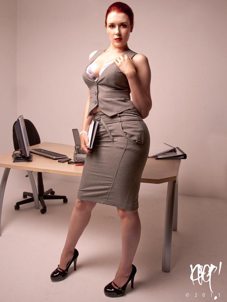 new office clerk trainee model robyn mua katia gboizo sh flickr new office clerk trainee by krop