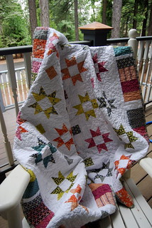 FriendshipStarQuilt.DrapedFront1 | by Caribousmom