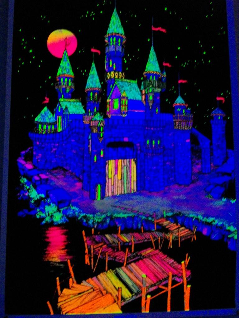 Black Light Castle | By Tattooedstranger Black Light Castle | By  Tattooedstranger