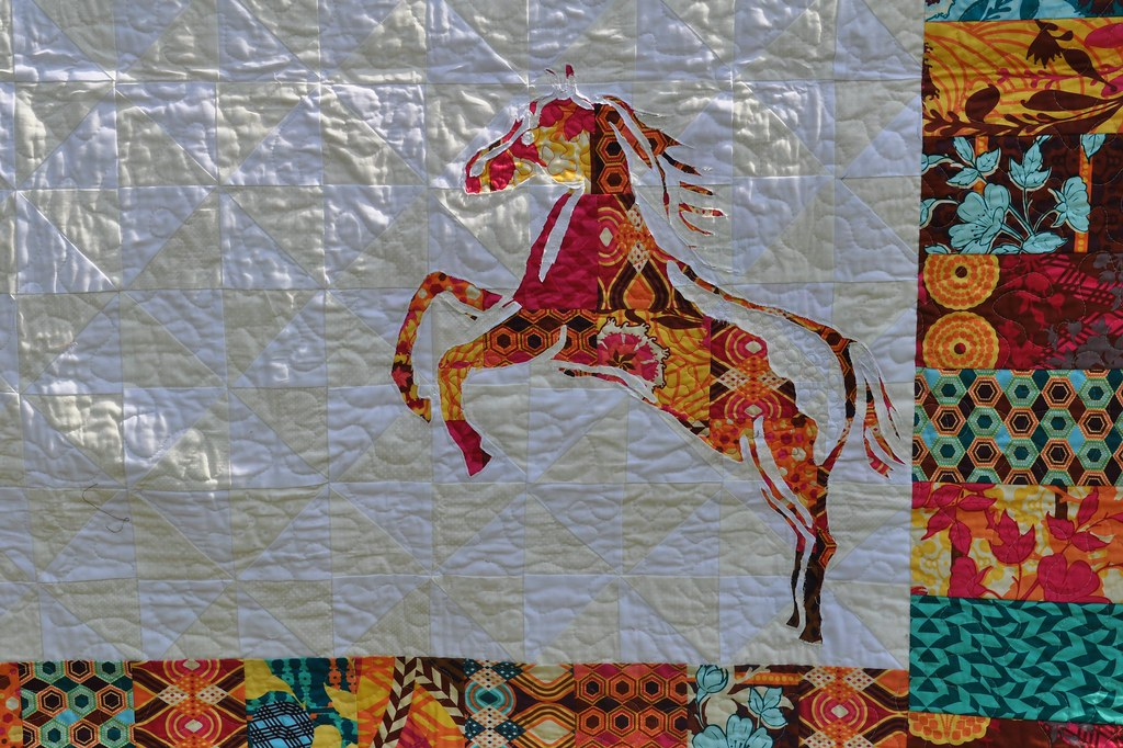 horse bedding cabin listing quilt il western