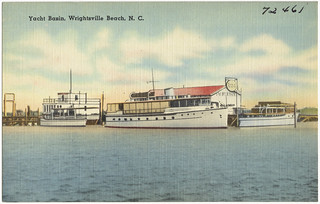 Yacht Basin, Wrightsville, N. C. | by Boston Public Library